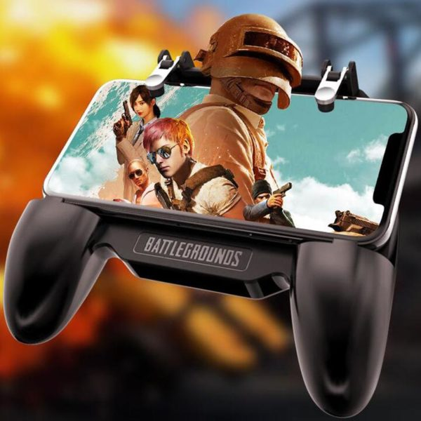 All in One Mobile Gaming Game Pad For PUBG Mobile Game Controller Gamepad Joystick Metal L1 3